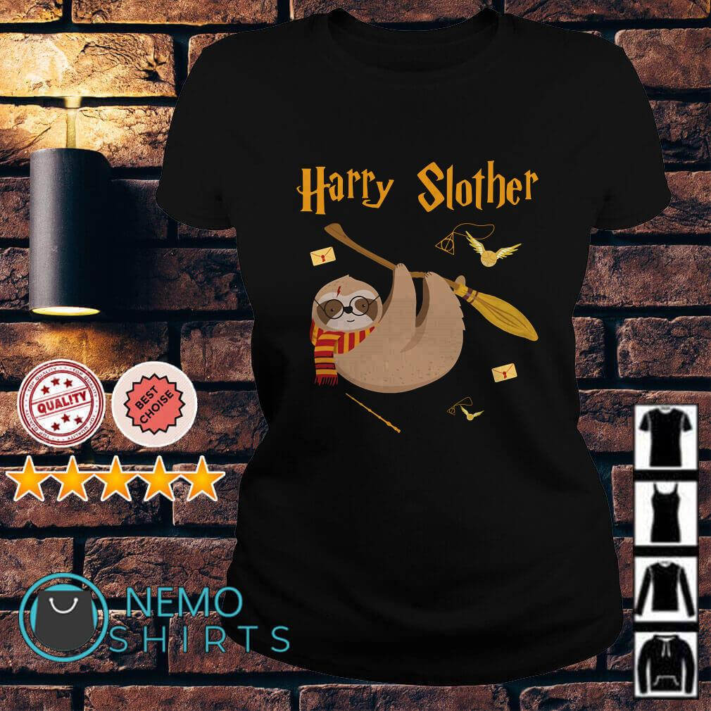 Harry Potter Sloth Harry slother Ladies tee