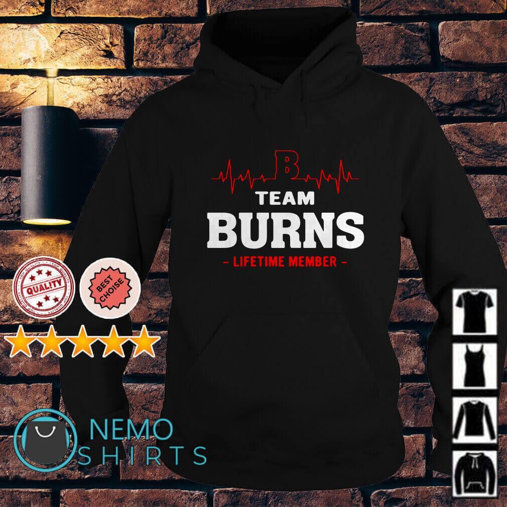 Heartbeat B team Burns lifetime member Hoodie