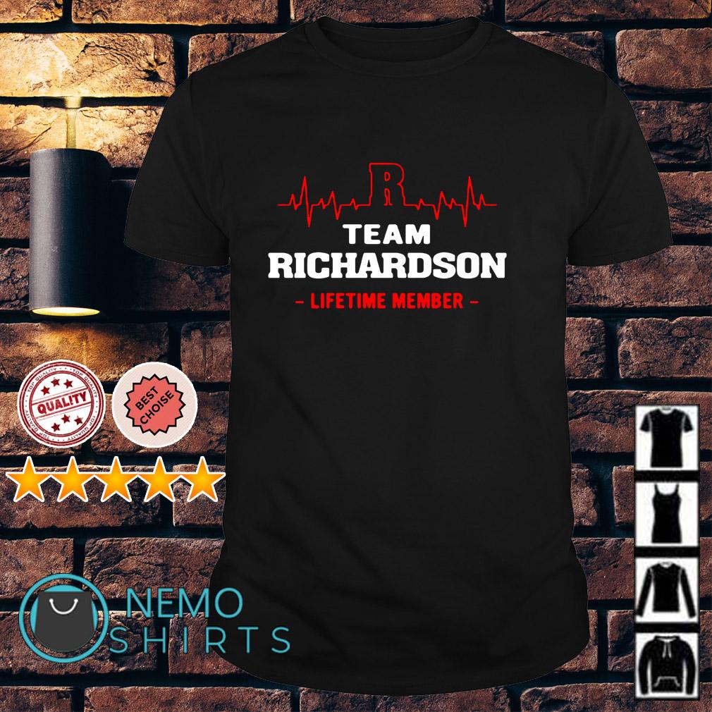 Heartbeat R team Richardson lifetime membber shirt