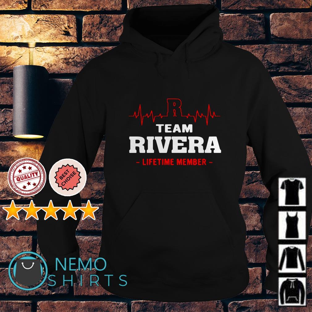 Heartbeat R team Rivera lifetime member Hoodie