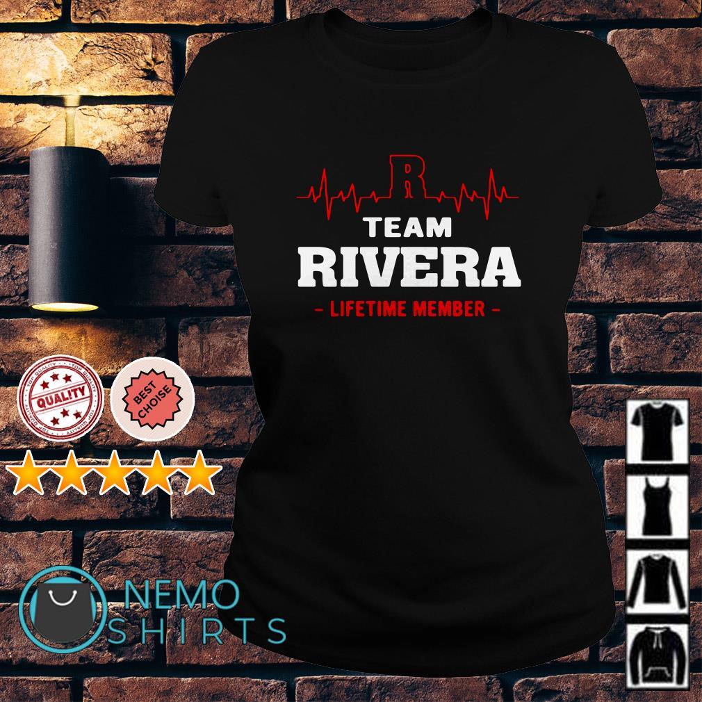 Heartbeat R team Rivera lifetime member Ladies tee