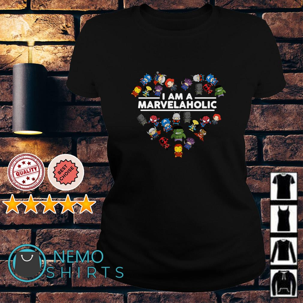 I am a Marvelaholic Ladies Tee