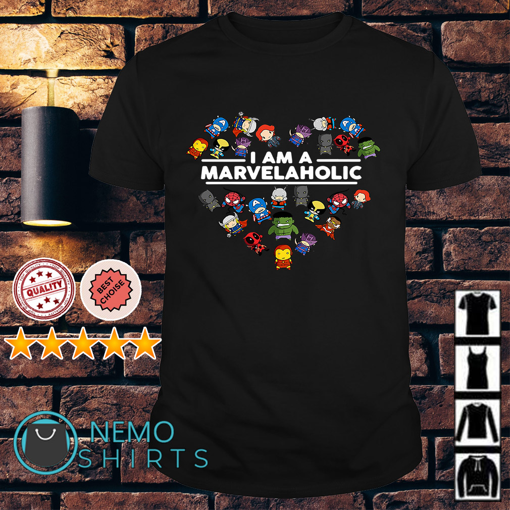 I am a Marvelaholic shirt