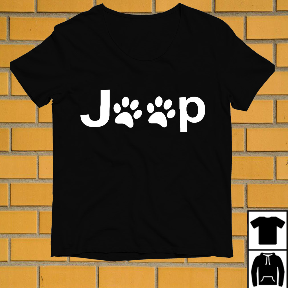 Jeep dog paw shirt