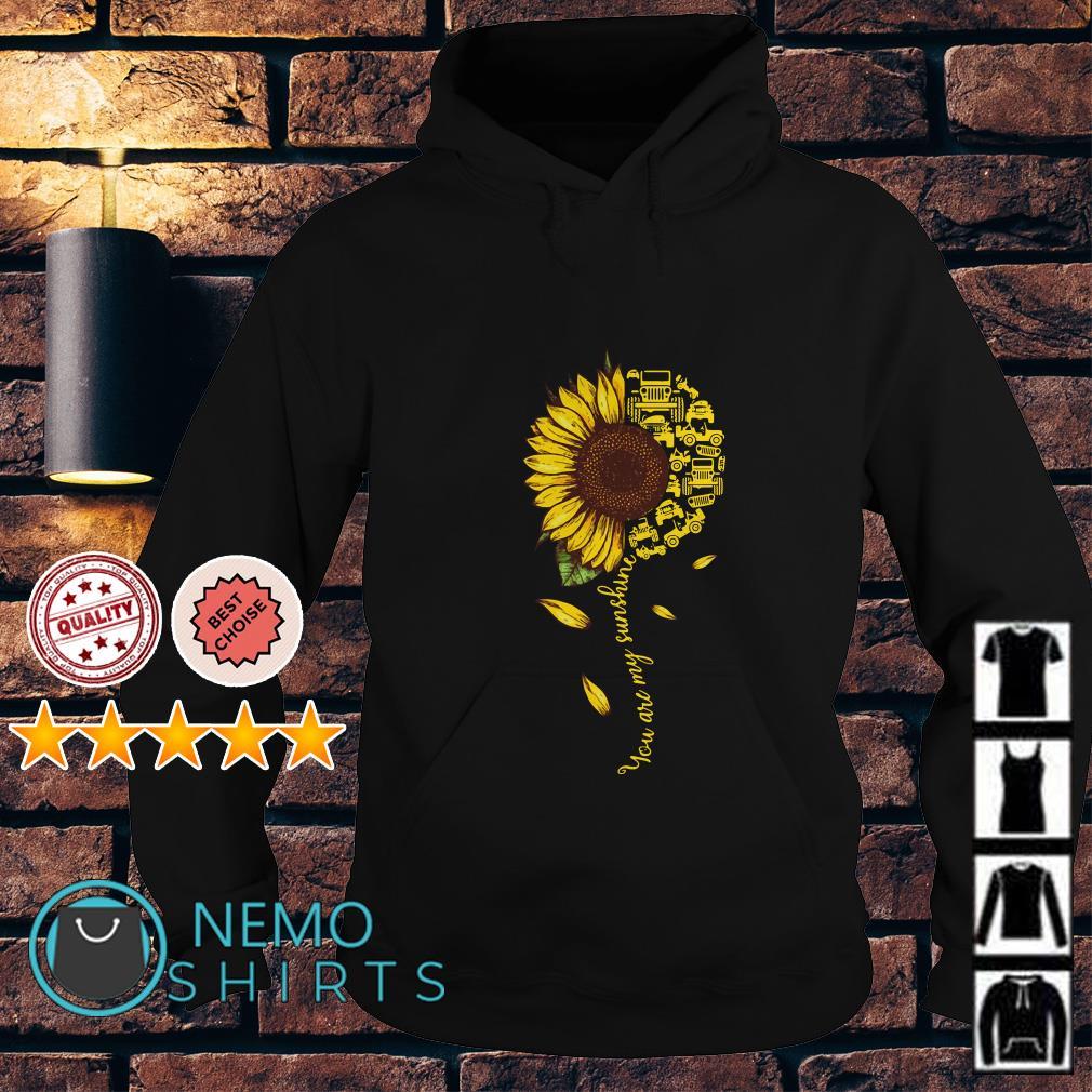 Jeep sunflower you are my sunshine Hoodie