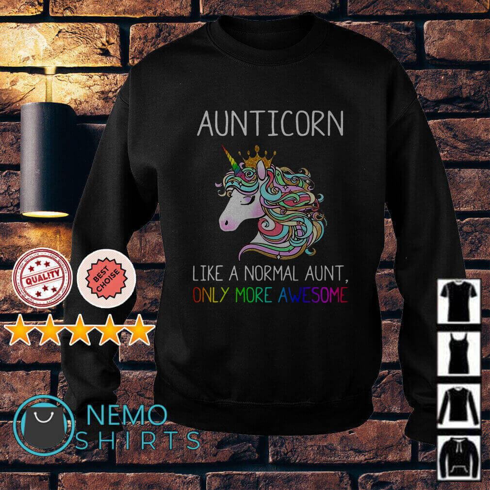 LGBT Aunticorn like a normal aunt only more awesome Sweater