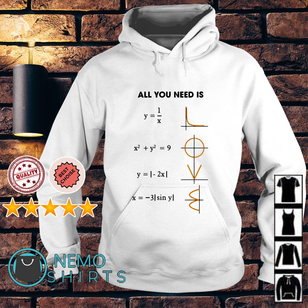 Math all you need is love Hoodie
