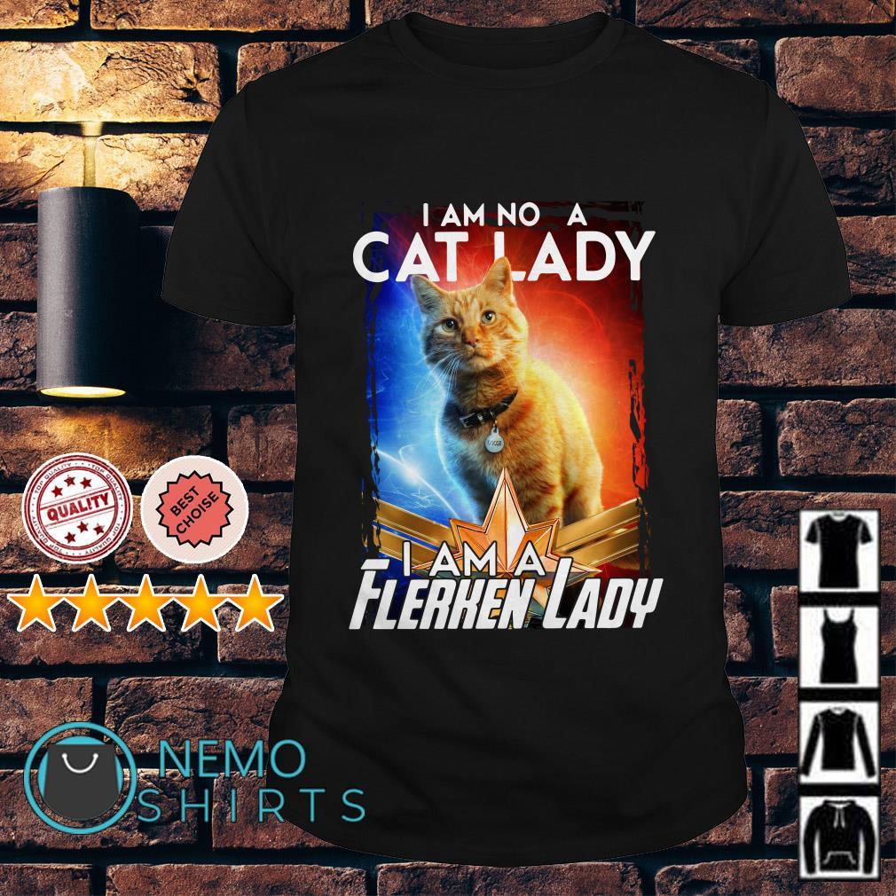 I am not a cat lady I am a Flerken lady shirt