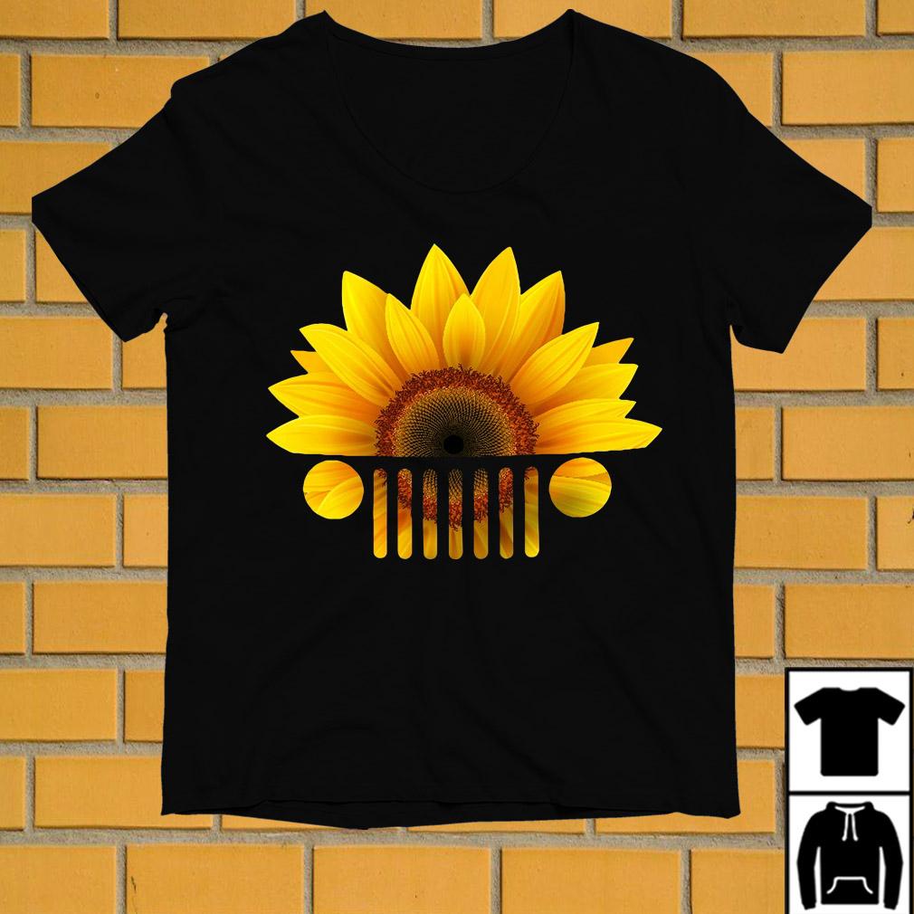 Official Sunflower jeep car shirt