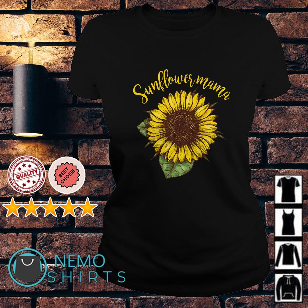 Official Sunflower mama Ladies tee