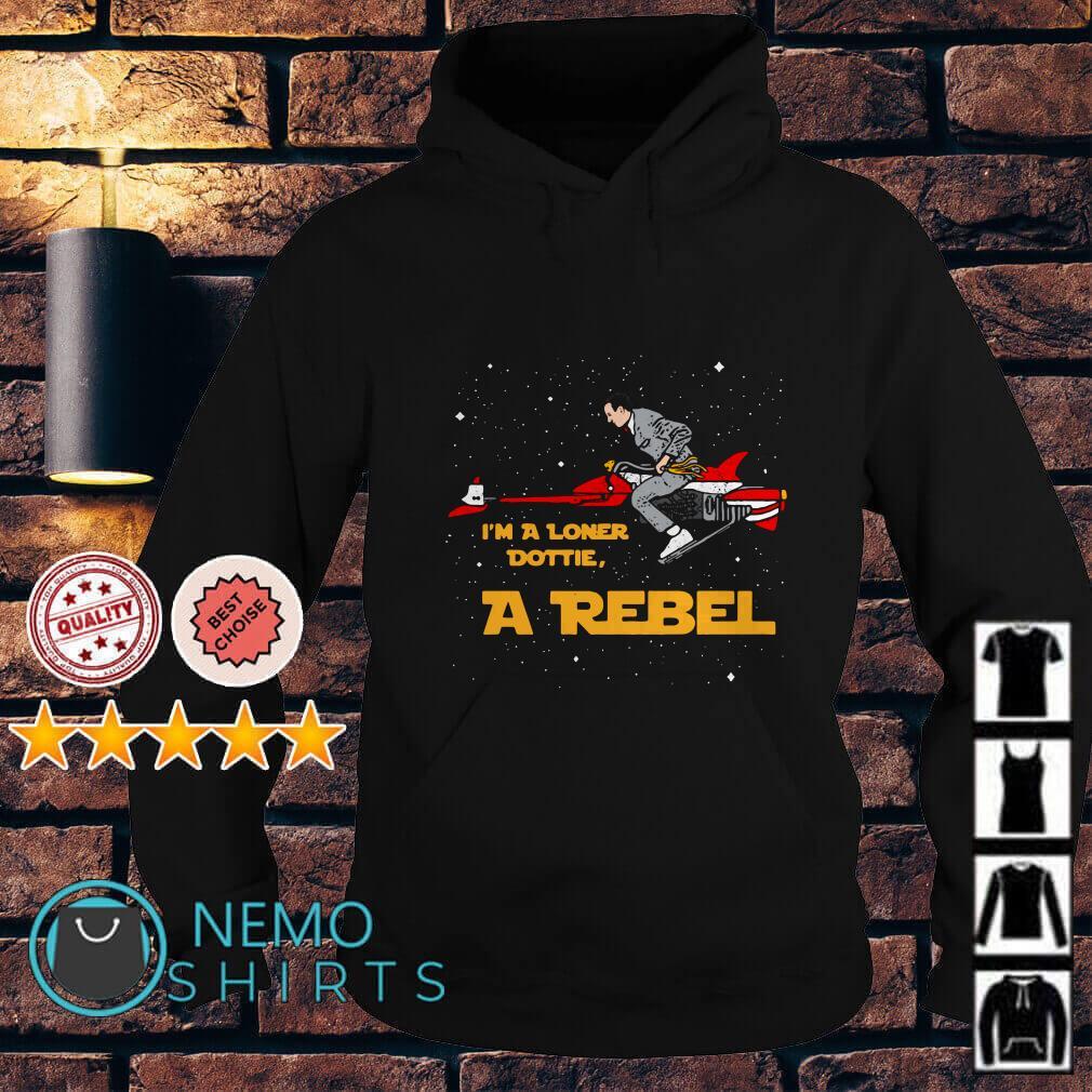 Pee-wee's Big Adventure I'm a Loner Dottie a Rebel Hoodie