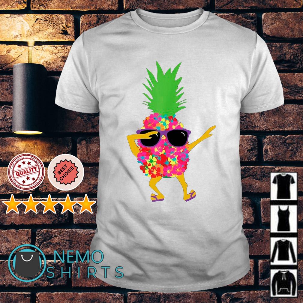 Pineapple dabbing shirt