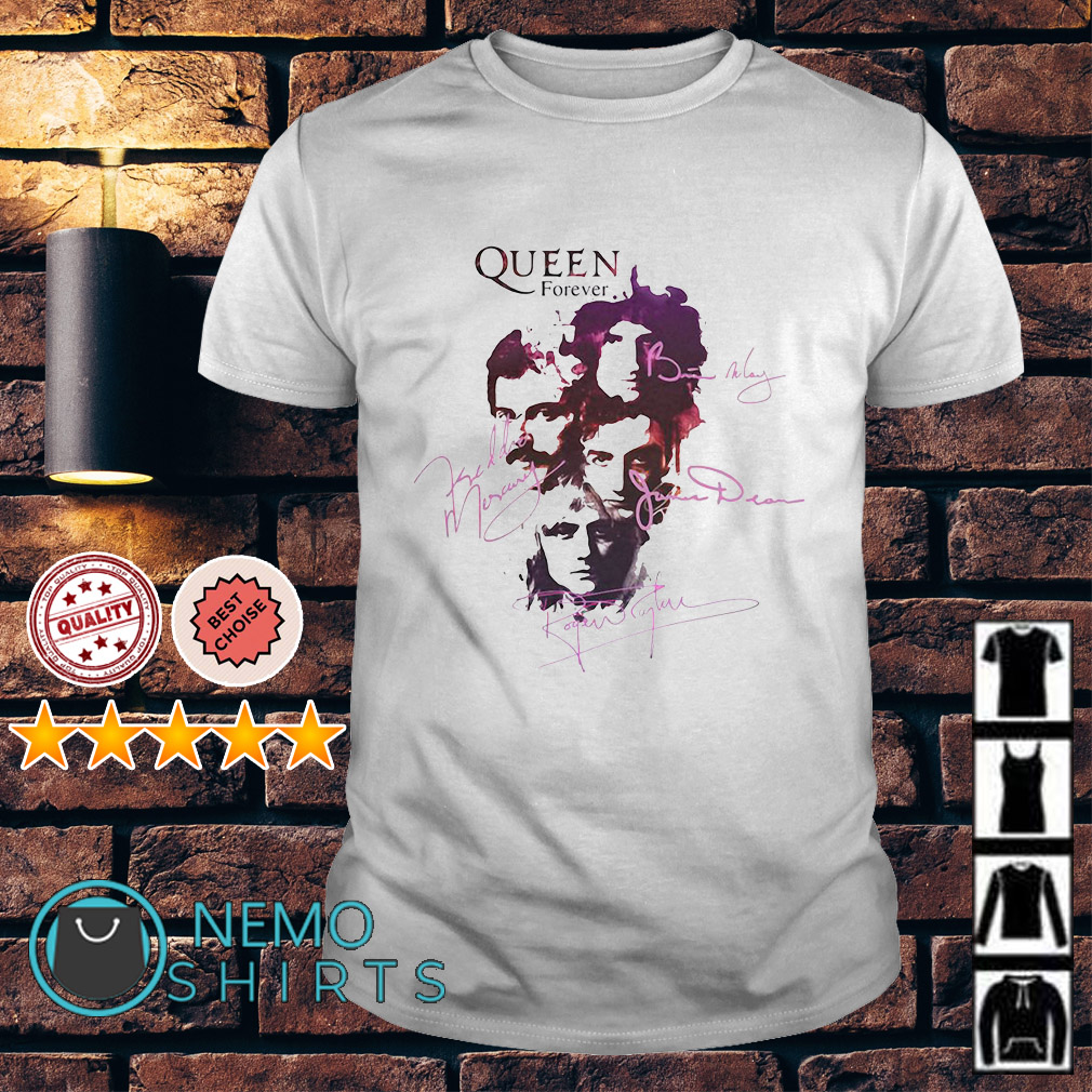 Queen Forever Rock Music Band shirt