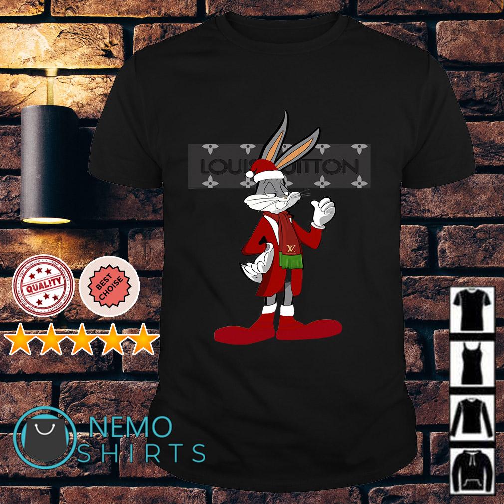 Rabbit bugs louis vuitton shirt