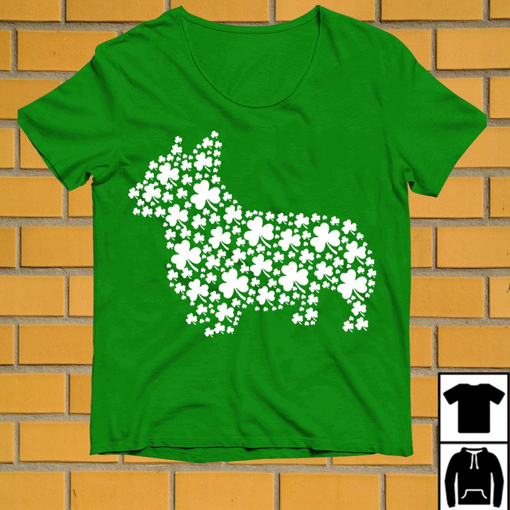 Shamrock make Dachshund St Patrick's day shirt
