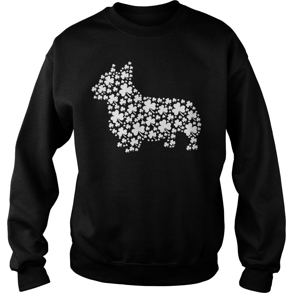 Shamrock make dog St Patrick's day Sweater