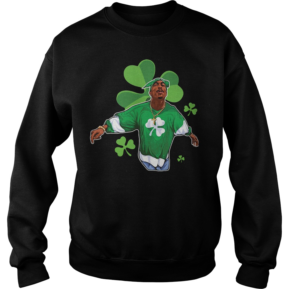 Snoop Dogg Shamrock St Patrick's day Sweater