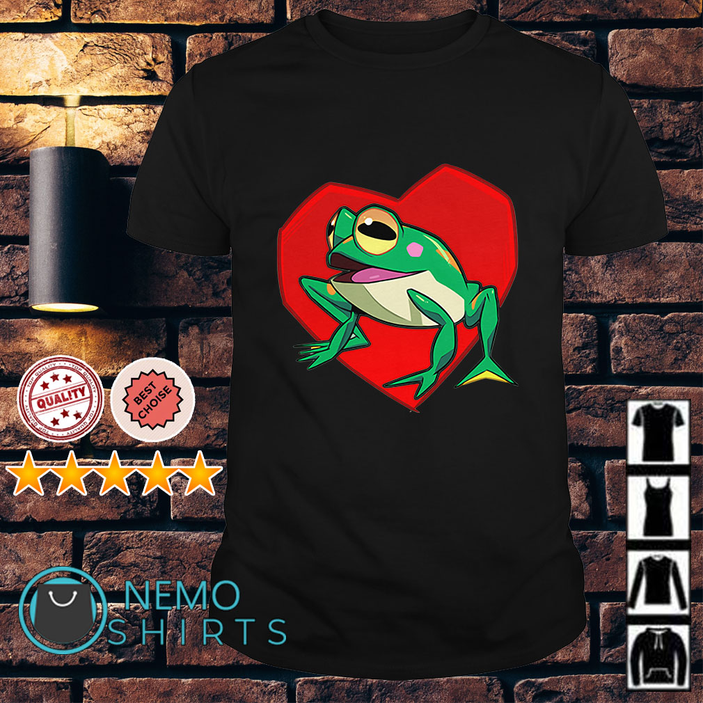 Sonic the hedgehog froggy shirt