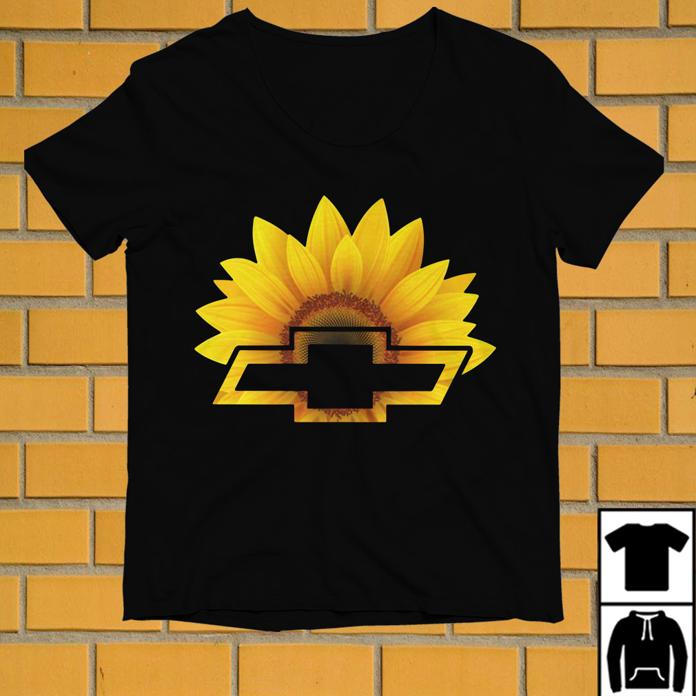 Sunflowers and Chevrolet combined shirt