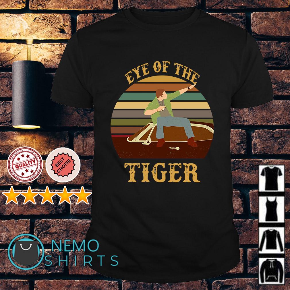 Supernatural Dean Eye of the tiger vintage shirt