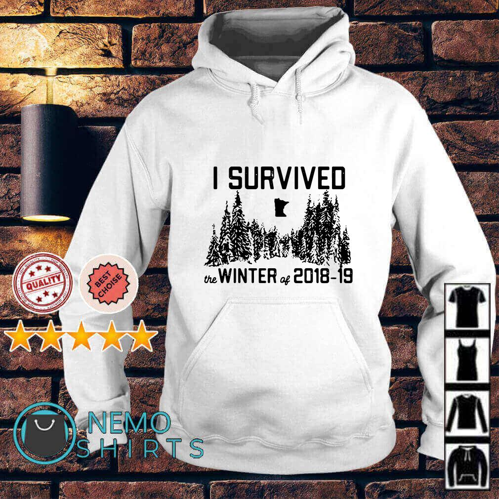 I survived the winter of 2018 2019 Hoodie
