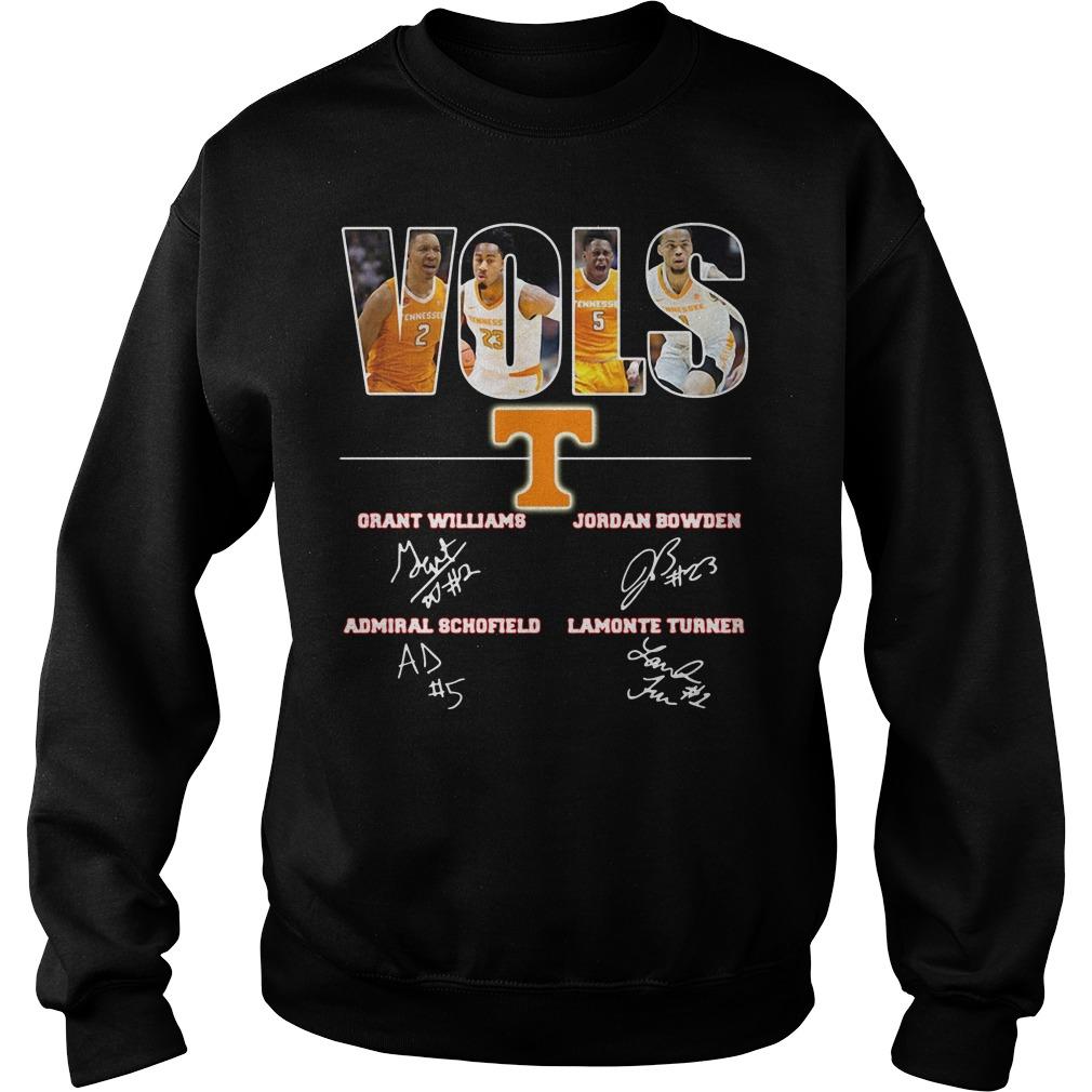 Tennessee Volunteers Grant Williams Jordan Bowden Admiral Sweater