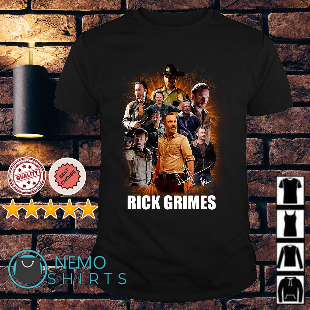 Walking Dead rick grimes shirt