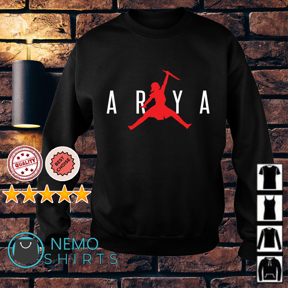 Arya Stark Air Jordan Game Of Thrones Sweater