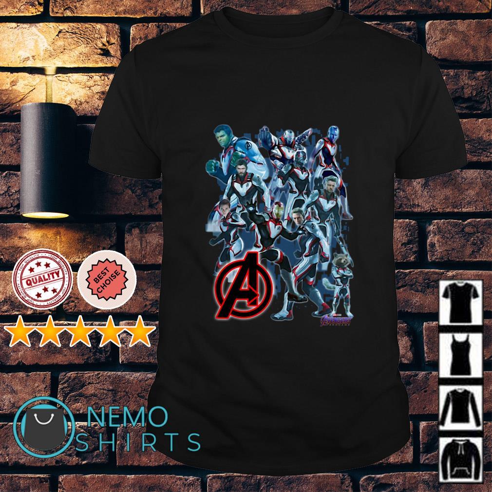 Avenger Endgame New Uniforms Into The Quantum Realm shirt