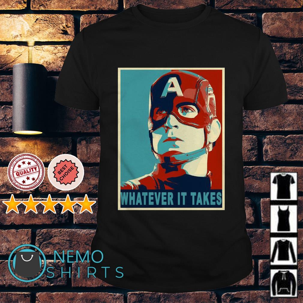 Avengers Captain America whatever it takes shirt