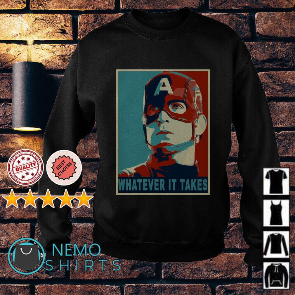 Avengers Captain America whatever it takes Sweater