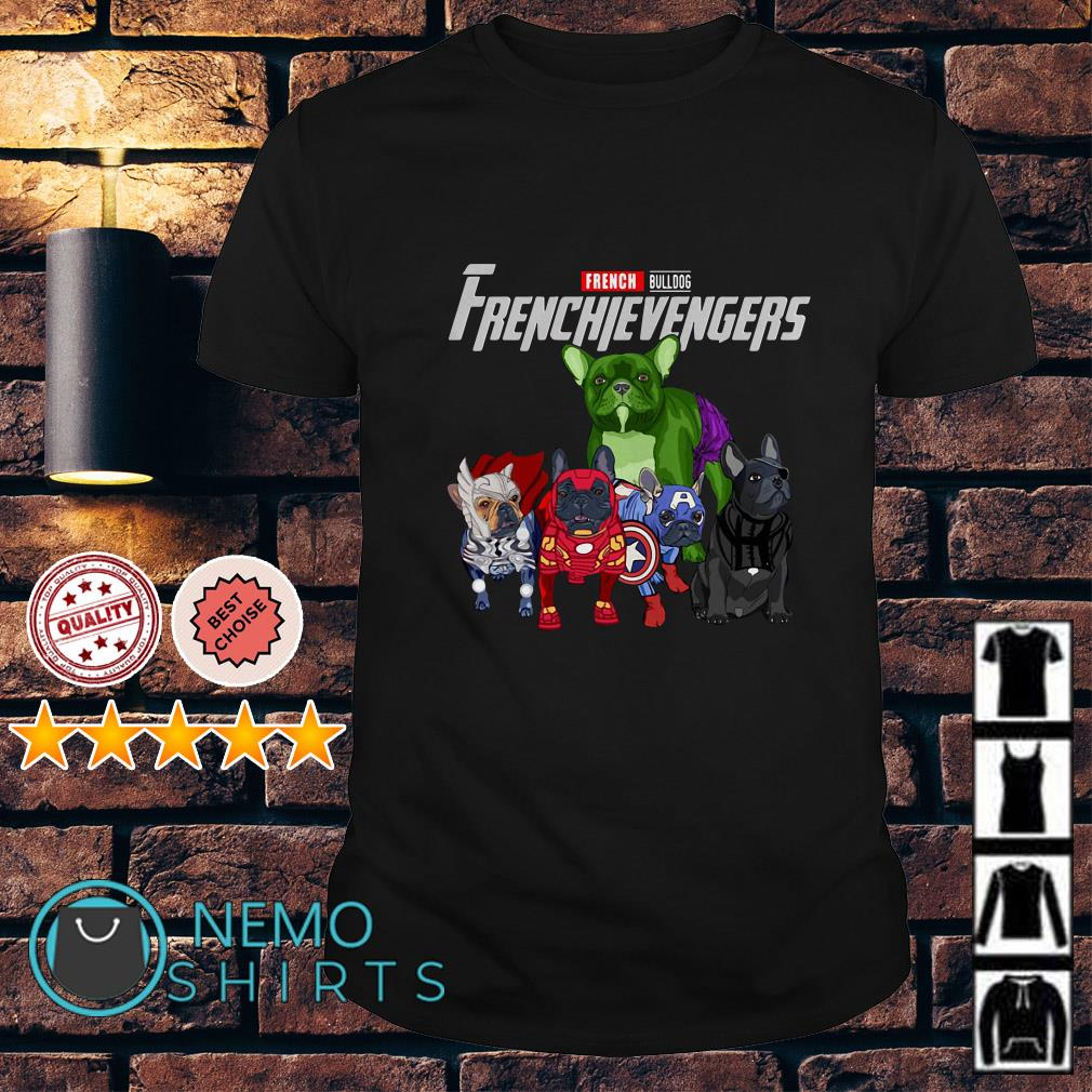 Marvel Avengers Endgame French Bulldog Frenchievengers shirt
