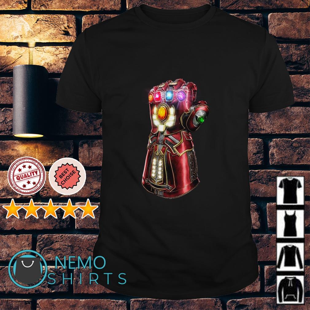 Avengers Endgame the Iron Gauntlet shirt