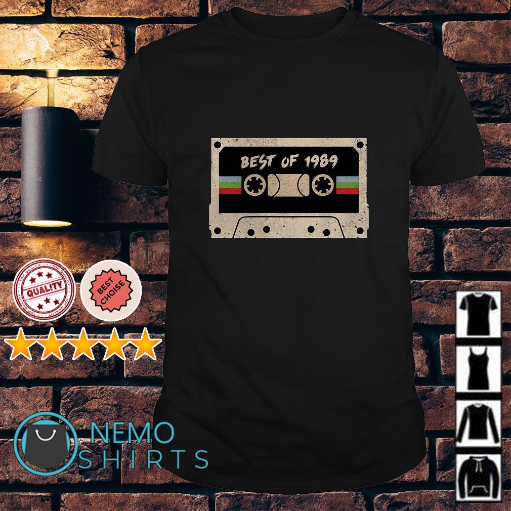Cassette best of 1989 vintage shirt