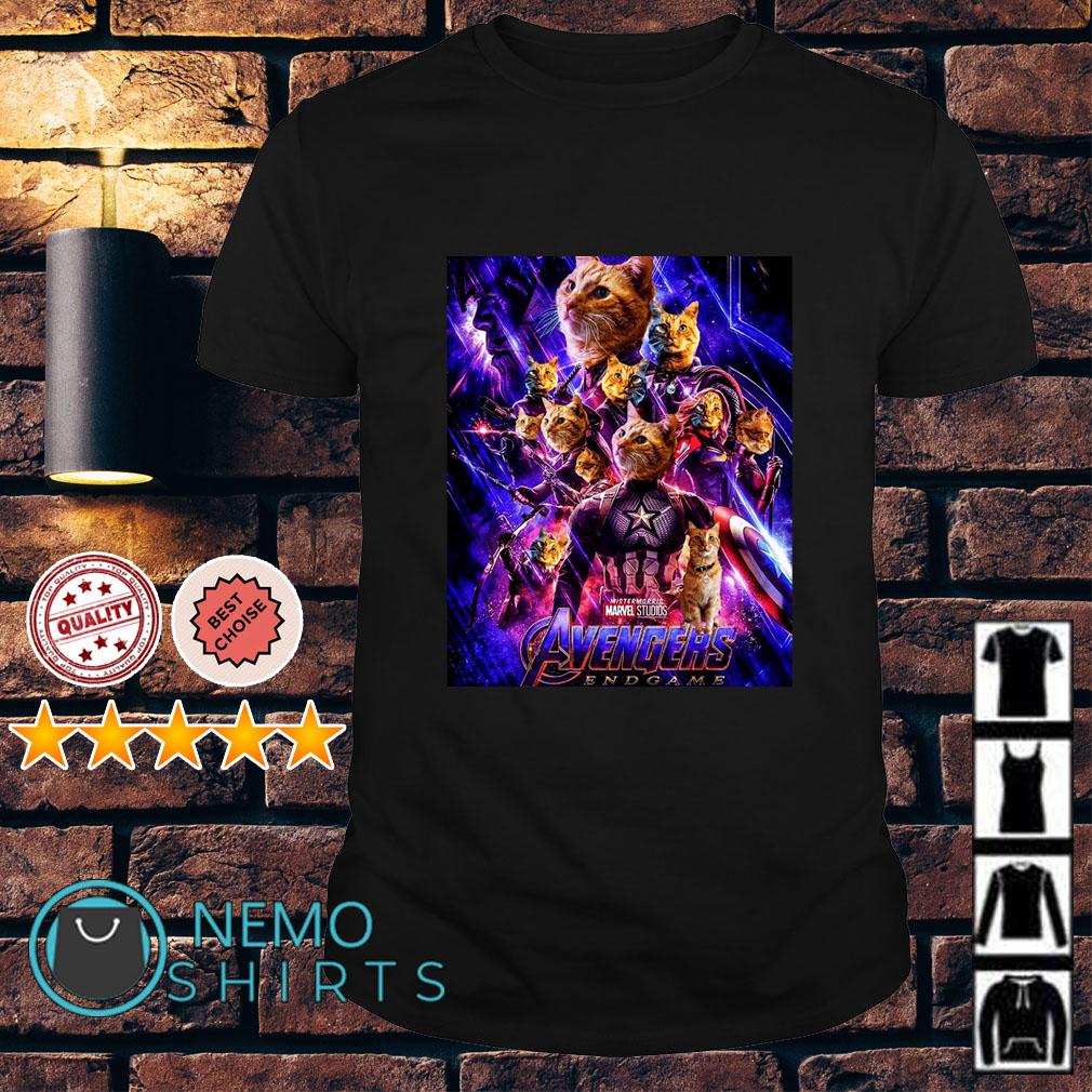 Cat Goose Poster Avengers Endgame shirt