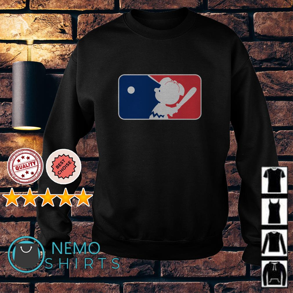 Charlie Brown Baseball League Sweater