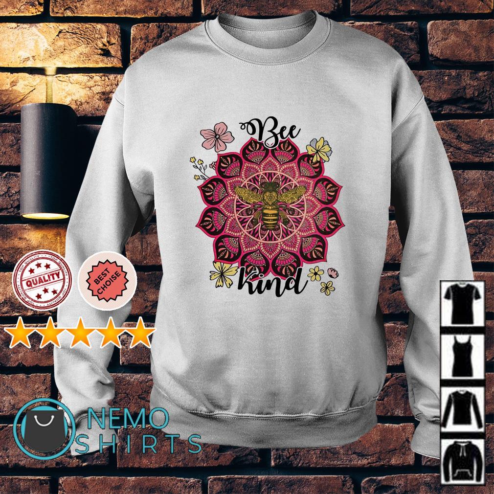 Flower Namaste be kind Sweater