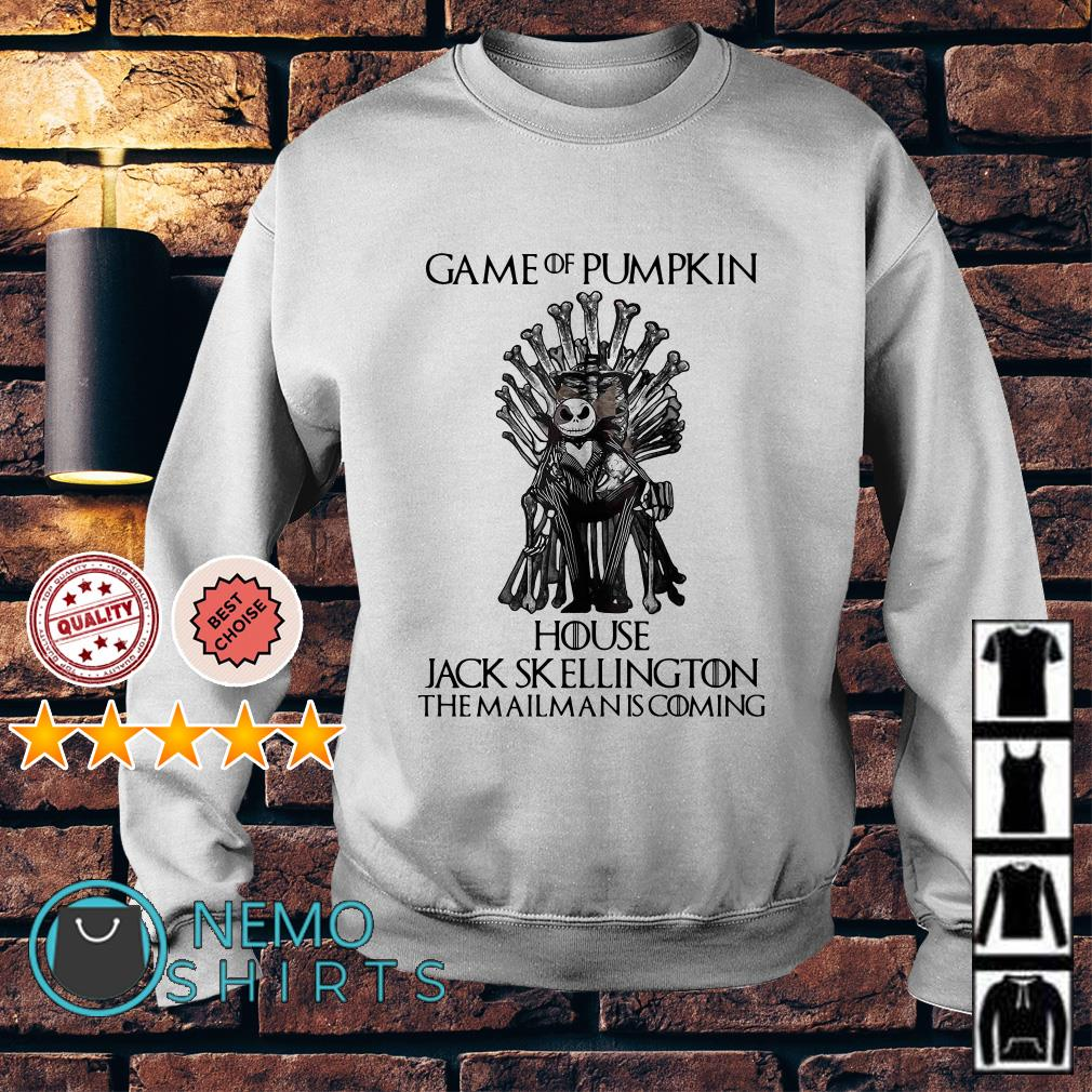 Game Of Pumpkin house Jack Skellington the mailman is coming Game Of Thrones Sweater