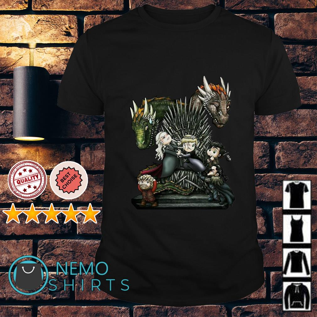 Game of thrones all characters chibi shirt