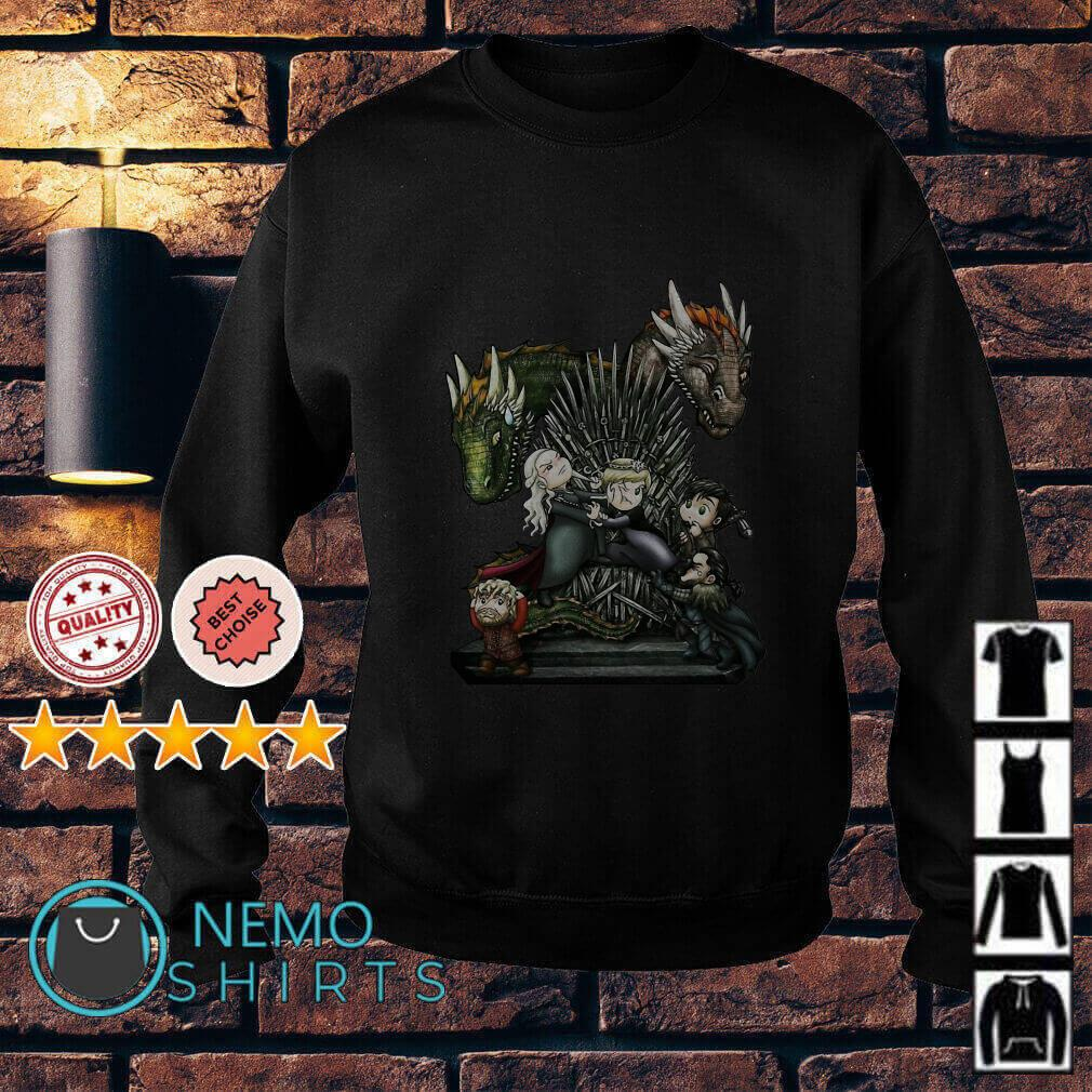 Game of thrones all characters chibi Sweater