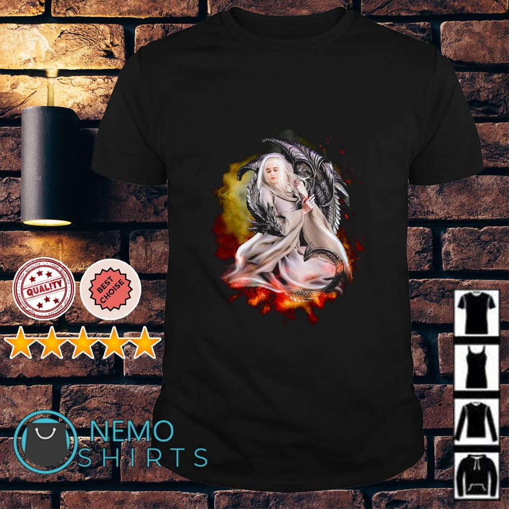 Game Of Thrones Daenerys Targaryen dragon shirt