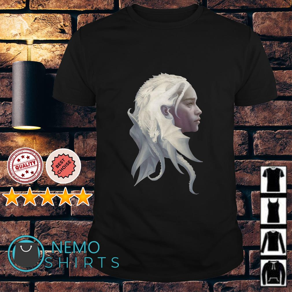 Game Of Thrones Daenerys Targaryen Jon Snow dragon Queen shirt