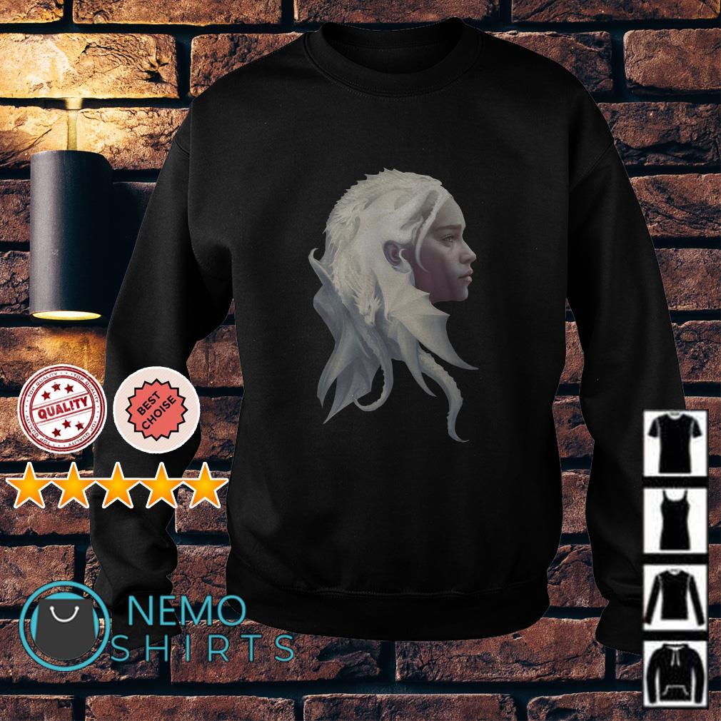 Game Of Thrones Daenerys Targaryen Jon Snow dragon Queen Sweater