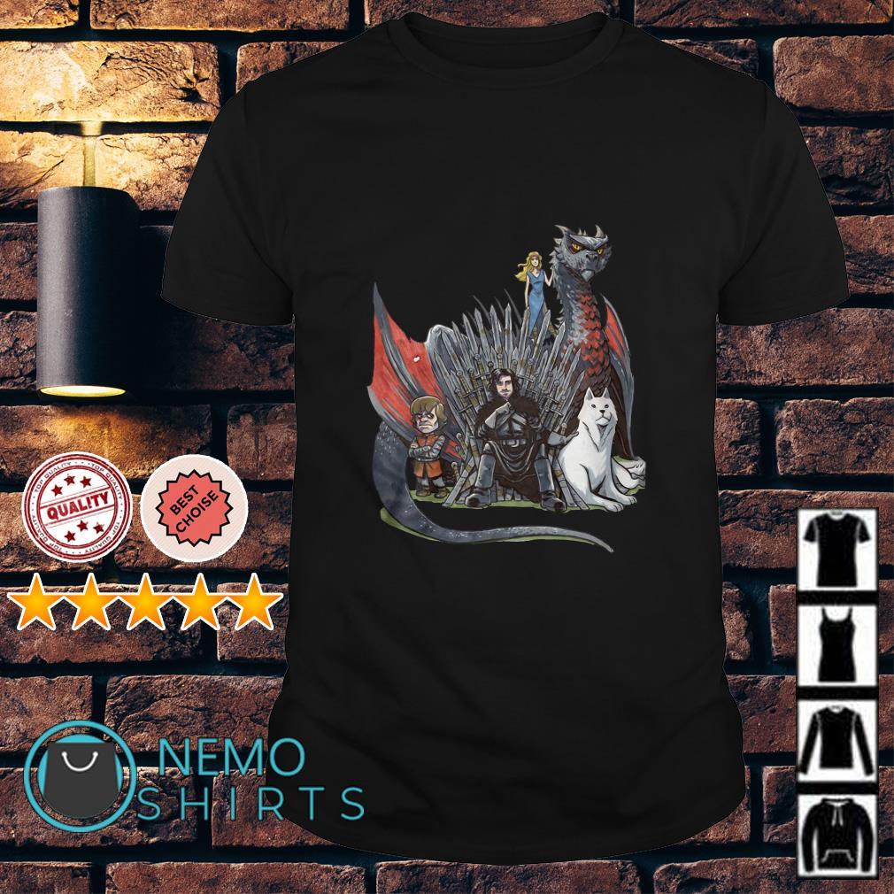 Game Of Thrones Jon Snow Tyrion Lannister Daenerys Targaryen shirt