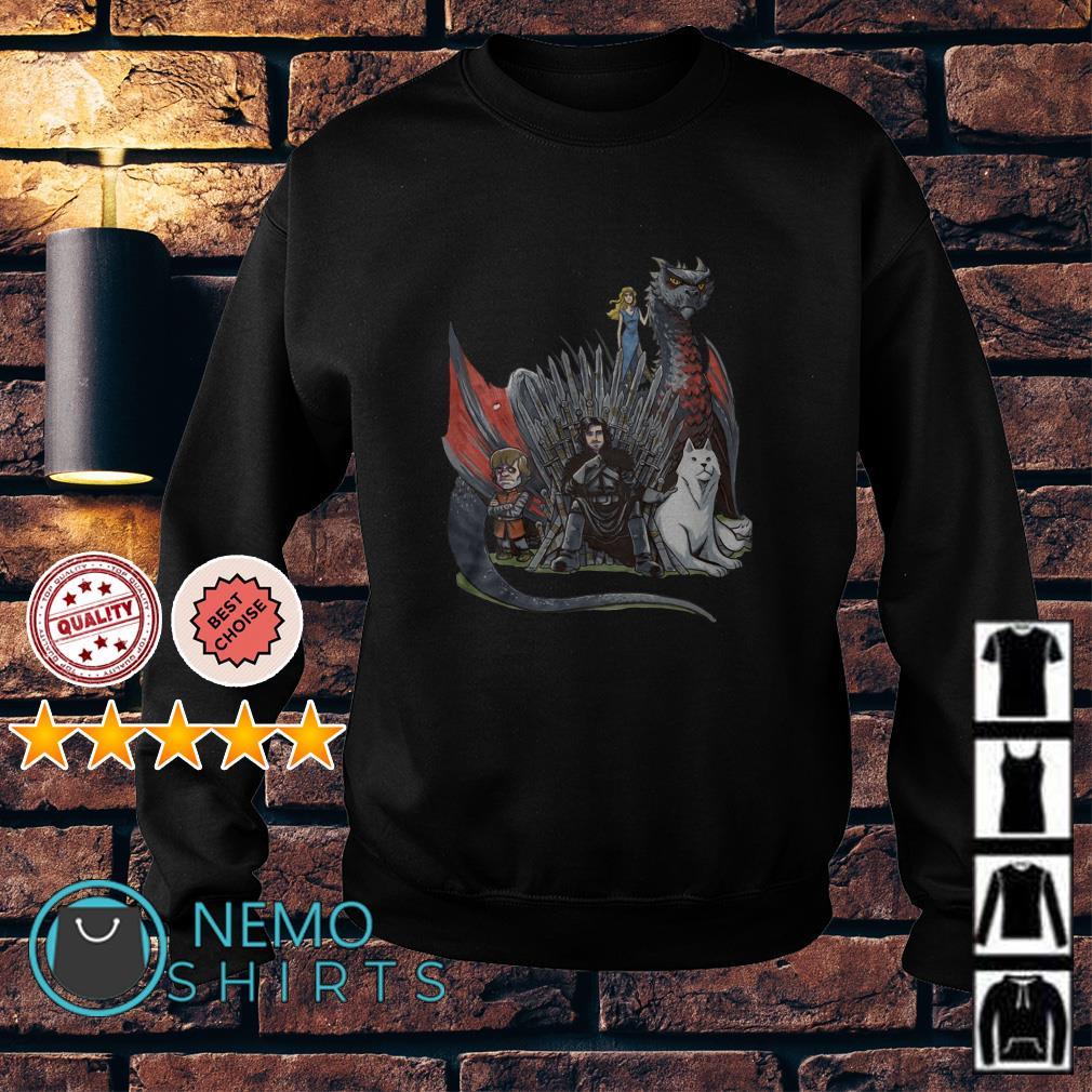 Game Of Thrones Jon Snow Tyrion Lannister Daenerys Targaryen Sweater