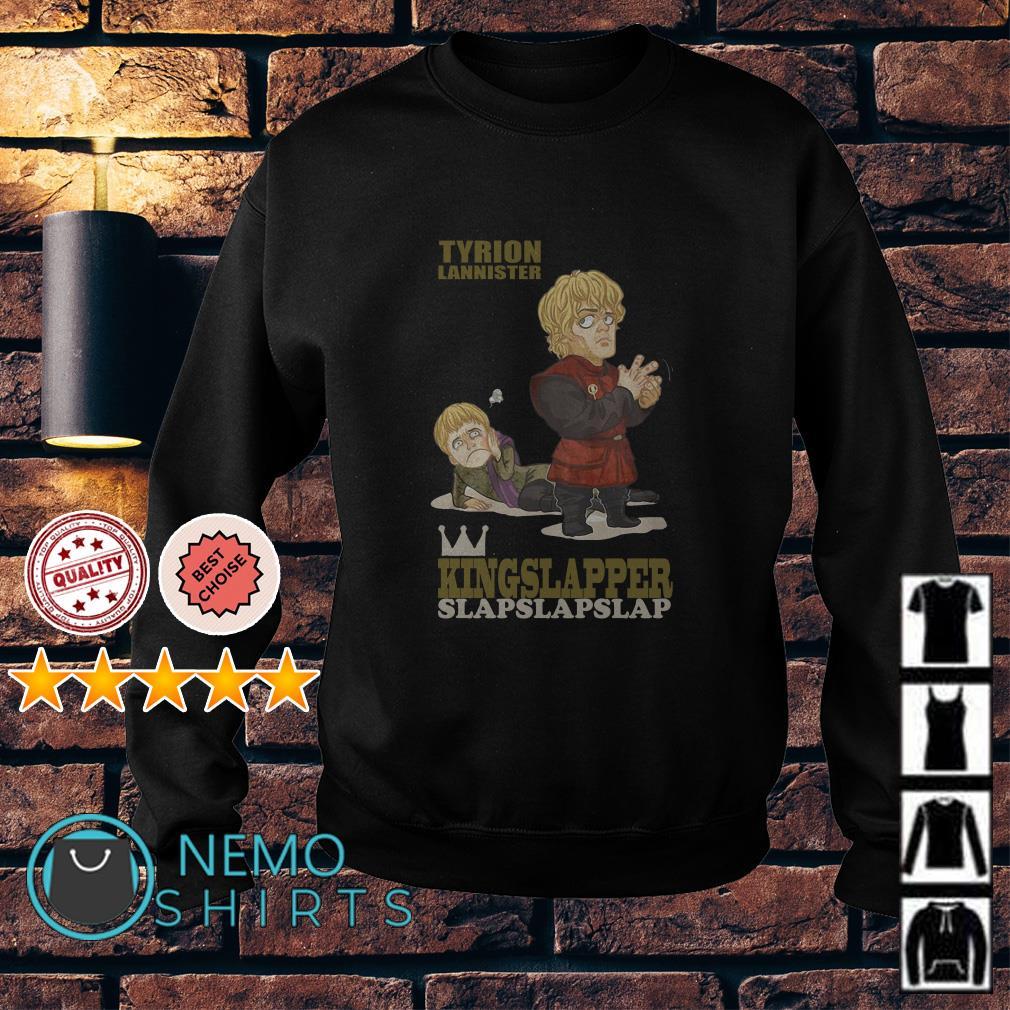 Game Of Thrones Tyrion Lannister kingslapper slapslapslap Sweater