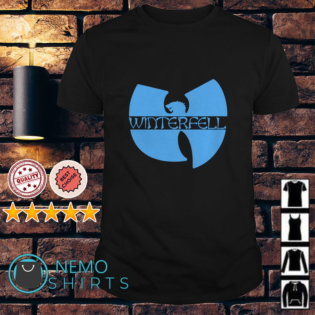 Game Of Thrones Wu Tang winterfell shirt