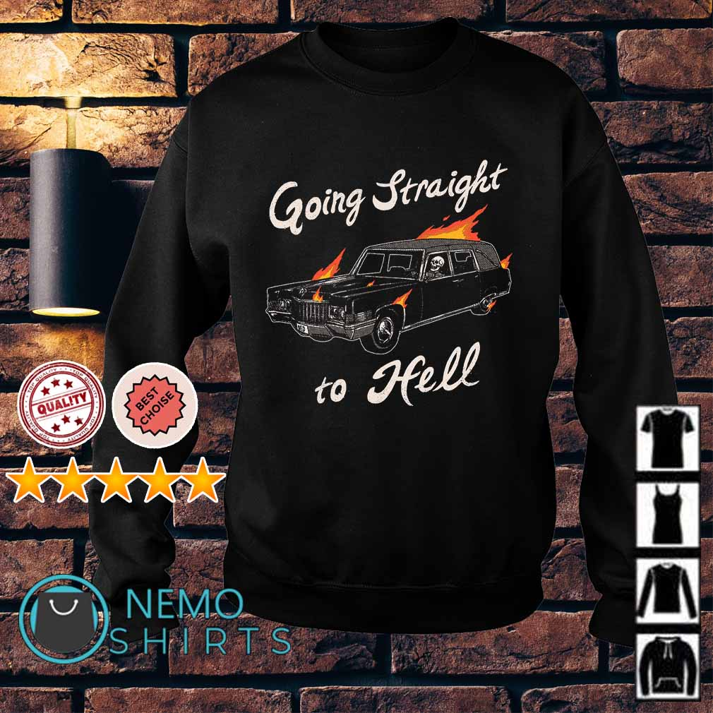 Ghost Rider going straight to hell Sweater