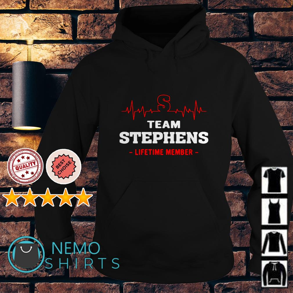 Heartbeat S team Stephens lifetime member Hoodie