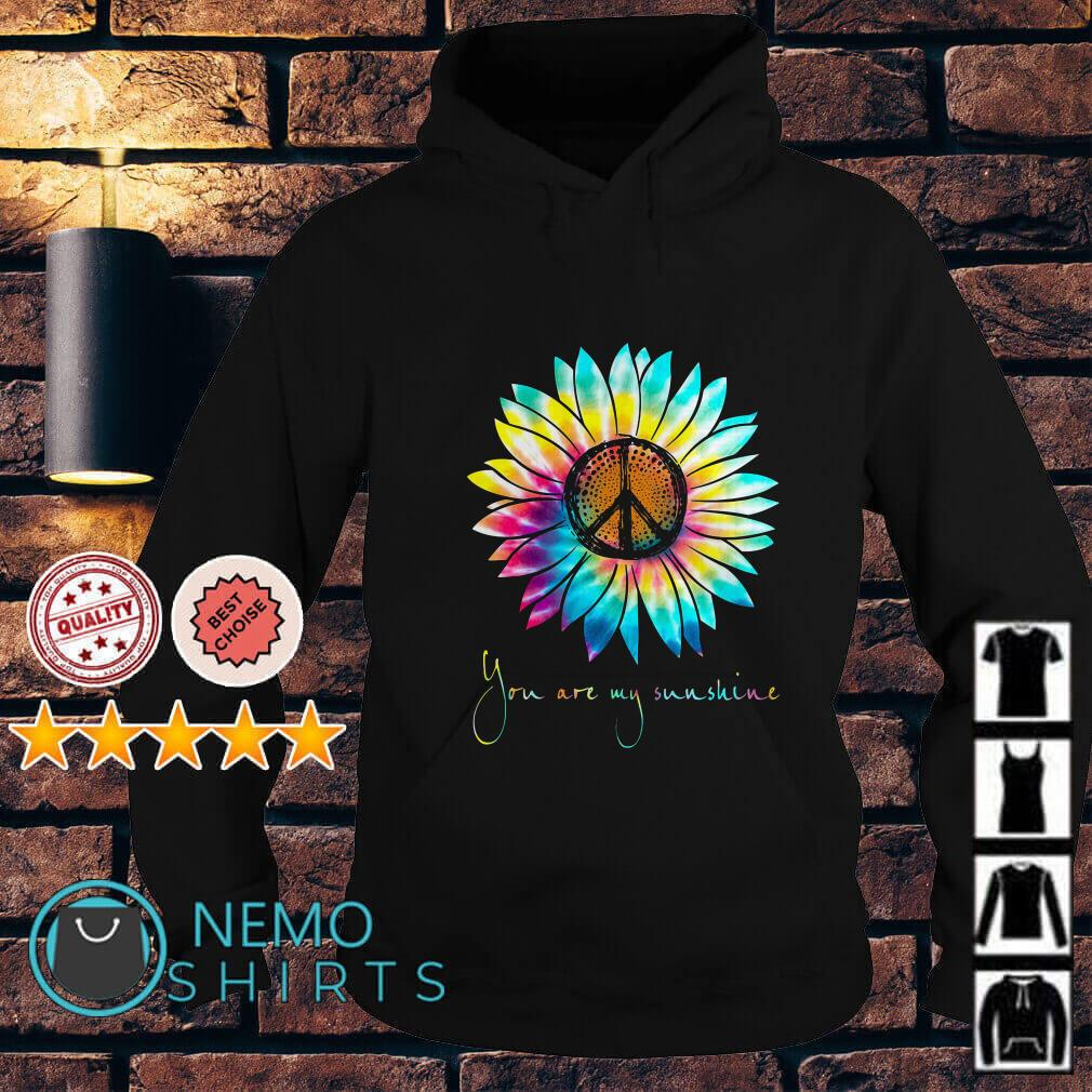 Hippie Sunflower you are my sunshine Hoodie